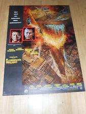 FLAMMENDES INFERNO - Kinoplakat A1 ´75 - PAUL NEWMAN Steve McQueen
