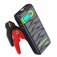 Bolt Power N02 1200 Amp Peak 12-Volt Car Battery Jump Starter for Mid-Size Cars