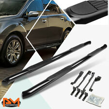 "For 07-13 Acura MDX YD2 SUV Pair Round 3"" Side Step Nerf Bar Running Board Black"
