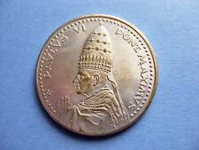 Medalla Año Santo de Roma 1975 Pablo VI Pont Maximvs (Vaticano). Plata
