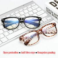 Anti Blue Ray Computer Goggles Radiation Protection Gaming Glasses UV Eyeglasses