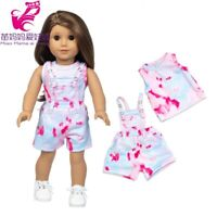 American Girl Doll Clothes Pink Coat Dress Baby Doll Clothes Office Lady 18 Inch