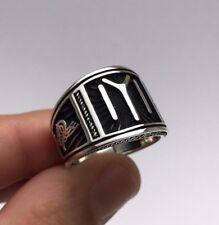 Ottoman Signature Kayı Iyi Dirilis Ertugrul 925K Sterling Silver Men's Ring