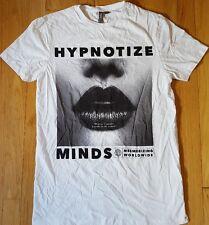 Asos HYPNOTIZE MINDS shirt S white streetwear beauty sexy supreme BBC Worldwide