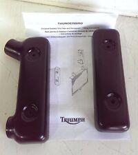 Triumph Legend Thunderbird Sport Radiator End Caps Left Right T2100161 T2100171