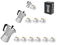 Italian Espresso Latte Cafetiere Coffee Maker 1 Cup 3 Cup 6 Cup Cups Percolator
