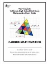 NEW - CAHSEE MATHEMATICS (Simplified Solutions for Math Inc.)