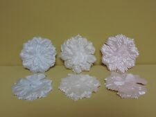 72 Flower Back Capia Carnations For Making Favors 3 Inches Diam. (Choose Colors)