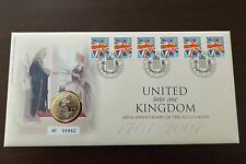 GB QEII FDC PNC COIN COVER 2007 THE ACT OF UNION 1707 £2 ROYAL MINT/MAIL B/UNC