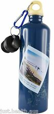 Cheeki 750ml Postcards Stainless Steel Water Bottle