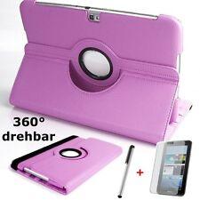 Funda protectora para Samsung Galaxy Tab 3 10.1 p5200 bolsa piel sintética case rosa pink