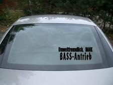 Umweltfreundlich Bass Antrieb aufkleber sticker JDM geil like Tuning