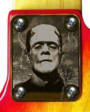 Neck Plate Neckplate Gold  Strat Tele P Bass J Bass Guitar Frankenstein 1