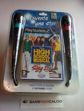 High School Musical Sing It + 2 Microfoni PS2 SIGILLATO
