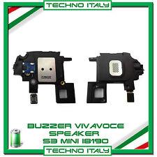 BUZZER SUONERIA ALTOPARLANTE VIVAVOCE PER SAMSUNG GALAXY S3 MINI i8190 NERO