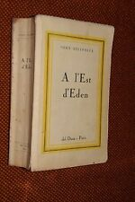A l'Est d'Eden John Steinbeck del Duca Paris 1956 L5 francese ^