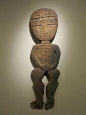 Antique outsider artist Folk Art naive figural sculpture figure