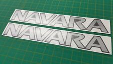 Nissan Navara D22 D40 D23 NP300 2.5 DI 3.0 4x4 Roof Bar decals stickers graphic