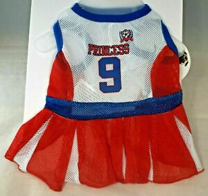 """Protect Me Pets - Red Mesh """"Princess"""" Cheerleader Outfit (Pet, Dog) Small"""