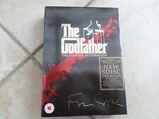 THE GODFATHER TRILOGY COPPOLA RESTORATION 5 DISC COLLECTION FREE POST