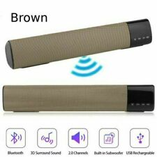 New listing Sound Bar for Tv 2.0 Channel Bluetooth Stereo Deep Bass Soundbar Home Theater Us