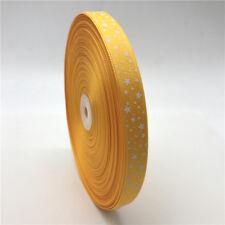 "5yards 5/8"" (15mm) Printing STAR Grosgrain Ribbon Bow Christmas Decoration #CA"