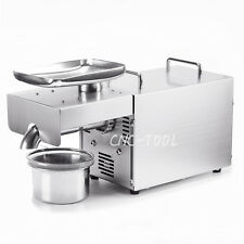 Automatic Oil Press Machine 304 Stainless Steel Seed Peanut Expeller 110V RG-306