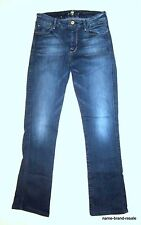 7 FOR ALL MANKIND Jeans The Skinny Bootcut Womens 27 Faded Wash Denim Boot Cut