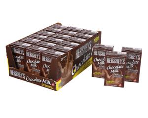 Hershey's Chocolate Milk Drink, 21 x 238ml NEW PACK