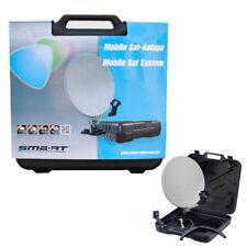 Digitale Camping Mini SAT-Anlage LNB 0,1dB Koffer Mobil Full HD HDTV 3D  Kabel