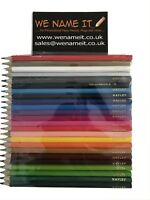 COLOURING PENCILS PERSONALISED ONLY £12.99 FREE UK POST      *Limit on Text*