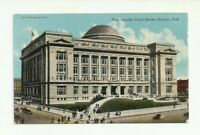 NEW COUNTY COURT HOUSE, OMAHA, NEBRASKA VINTAGE POSTCARD