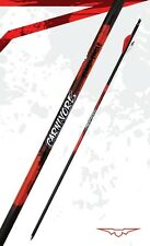 "New Black Eagle Carnivore Carbon Arrows 250 (.001"") w/ Blazer Vanes 1/2 Dozen"