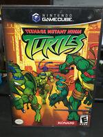 TMNT Teenage Mutant Ninja Turtles 2003 Video Game Nintendo Gamecube Complete!