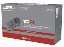 Sena 10R Low Profile 4.1 bluetooth intercom Includes Handlebar Remote 2017 (NEW)