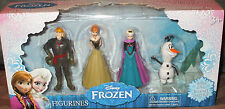 Disney FROZEN Figurines Set of 4 Cake Toppers Princess ELSA & ANNA OLAF KRISTOFF