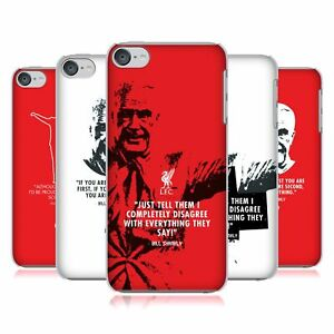 OFFICIAL LIVERPOOL FOOTBALL CLUB BILL SHANKLY BACK CASE FOR APPLE iPOD TOUCH MP3