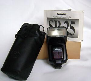 Nikon SB-25 Speedlight!  Flash SB25! NIKON JAPAN!