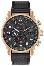 Citizen CA0683-08E Men's Eco-Drive Primo Leather Band Chronograph Watch
