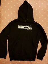 WATCH X WITNESS Photography is Not A Crime Hoodie Evidence Dilated Rhymesayers