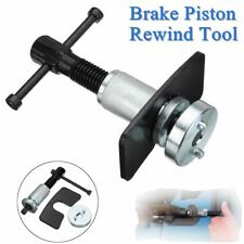 Rear Car Brake Disc Caliper Piston Wind Back Rewind Hand Tool Set Dual Pin Pad