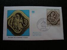 FRANCE - enveloppe 1er jour 22/2/1969 (bas relief cathedrale d amiens) (cy41)