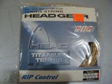 Head Titanium Tennis Rip Control 16 Gauge/1.30mm, 38ft Durability Tennis String