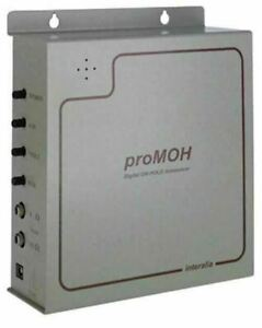 Interalia proMOH Digital On-Hold Announcer with FLASH memory compatible with MOH