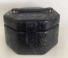 Ladies Dulwich Designs Leather Jewellery Case With Mirror & Handle