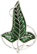 Lord of the Rings Lorien Elven Leaf Brooch Costume Jewellery by Noble Collection