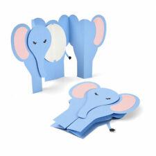 Sizzix Thinlits Die Set 6PK - Card, Elephant Fold-a-Long by Jen Long 663604