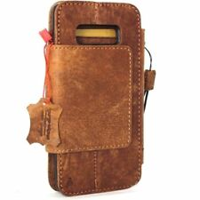 genuine vintage leather Case fo samsung galaxy note 8 book wallet magnetic cover