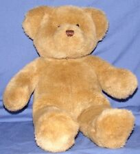 "Build a Bear Light Brown Teddy Bear Soft Plush 15"" Black Eyes Stitched Nose HTF"