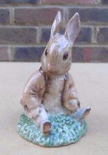 BESWICK Beatrix Potter Figurine - Benjamin Bunny Sat on a Bank BP-3c